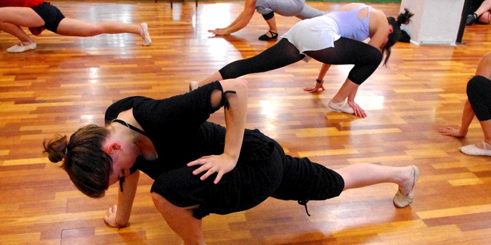 Barre terre les feux de la rampe metz for Cours danse classique barre